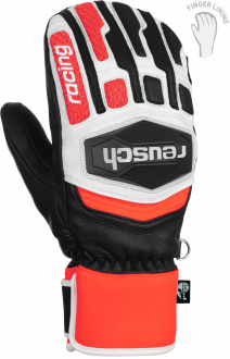 Reusch Worldcup Warrior Team Mitten 6011422 7810 white black red front